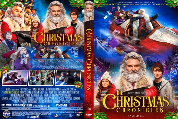 Covercity Dvd Covers Labels The Christmas Chronicles