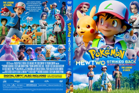 Covercity Dvd Covers Labels Pokemon Mewtwo Strikes Back