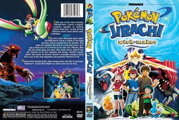 Covercity Dvd Covers Labels Pokemon Jirachi Wish Maker