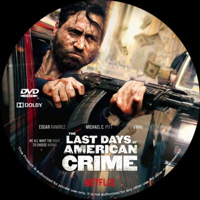 Covercity Dvd Covers Labels The Last Days Of American Crime