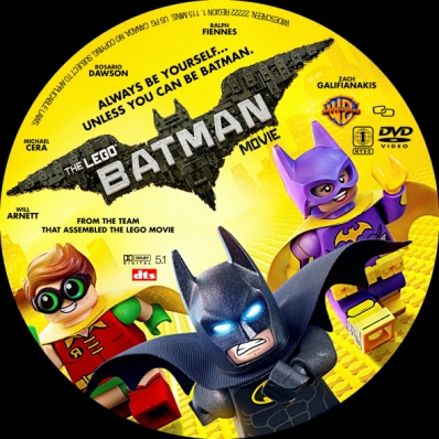 covercity - dvd covers  labels - the lego batman movie