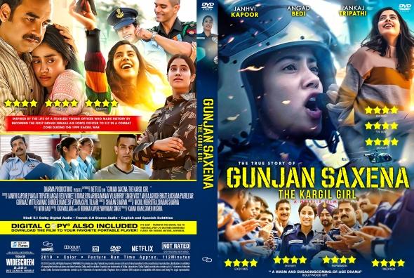 Covercity Dvd Covers Labels Gunjan Saxena The Kargil Girl