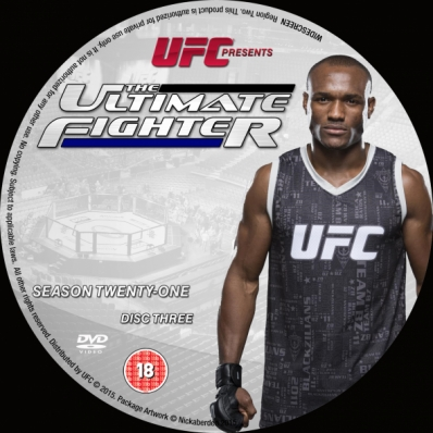 The Ultimate Fighter - Season 21; disc 3
