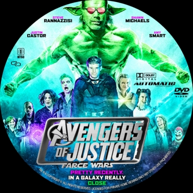 CoverCity - DVD Covers & Labels - Avengers of Justice: Farce Wars