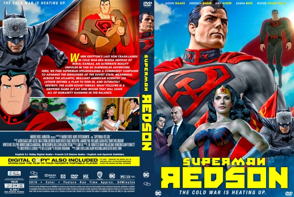 Covercity Dvd Covers Labels Superman Red Son