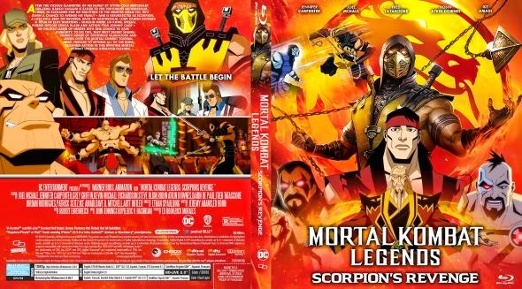 Covercity Dvd Covers Labels Mortal Kombat Legends Scorpion S Revenge