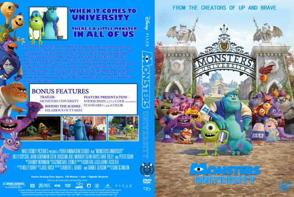 CoverCity - DVD Covers & Labels - Monsters University