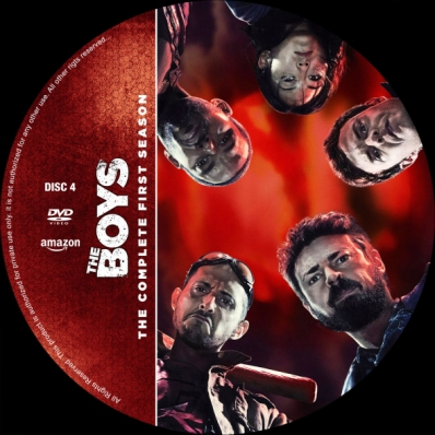 The Boys - Season 1; disc 4