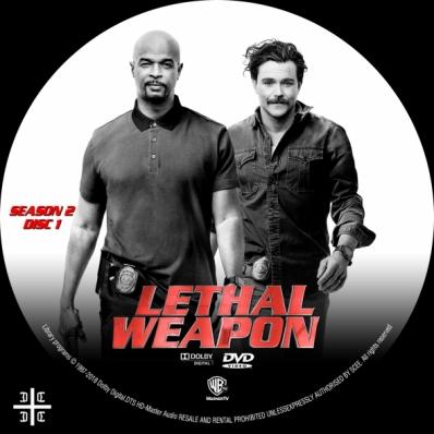 LETHAL WEAPON - Season 2; disc 1