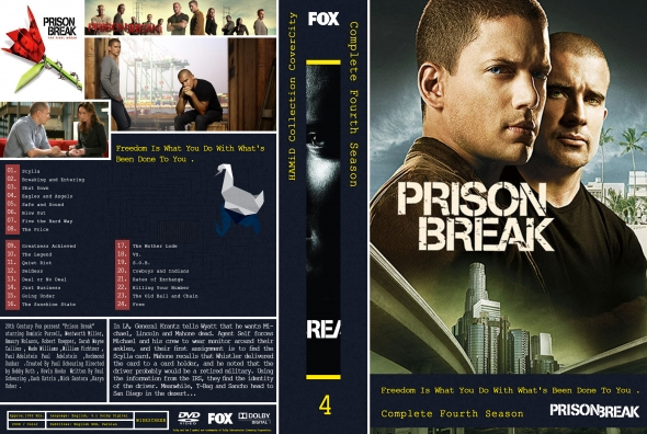 Covercity Dvd Covers Labels Prison Break Season 4