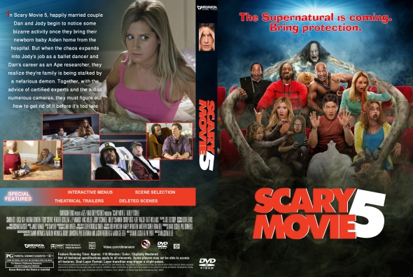 Covercity Dvd Covers Labels Scary Movie 5
