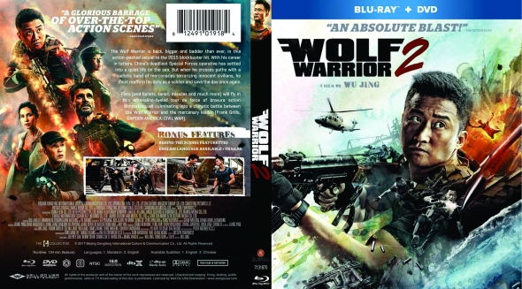 Covercity Dvd Covers Labels Wolf Warrior Ii