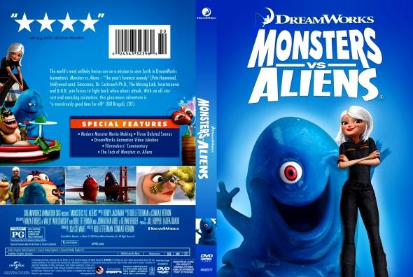 Covercity Dvd Covers Labels Monsters Vs Aliens