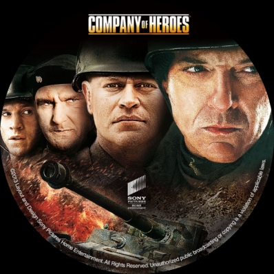 Covercity Dvd Covers Labels Company Of Heroes