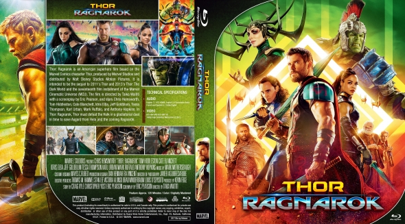 Covercity Dvd Covers Labels Thor Ragnarok
