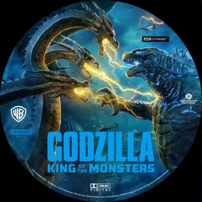 Godzilla: King of the Monsters 4K