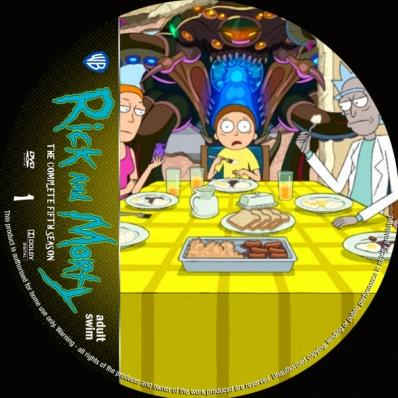 Rick And Morty - Season 5; disc 1