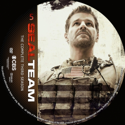 Seal Team - Season 3; disc 5