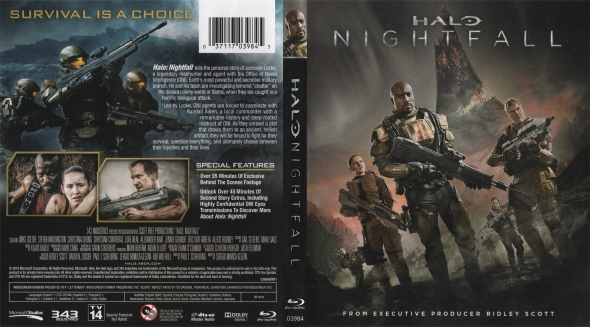 Covercity Dvd Covers Labels Halo Nightfall