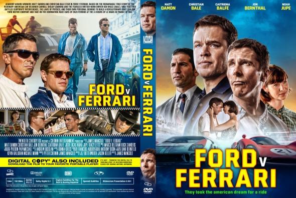 Covercity Dvd Covers Labels Ford V Ferrari