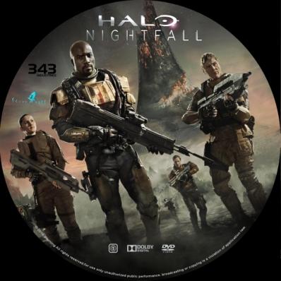 Covercity Dvd Covers Labels Halo Nightfall Season 1