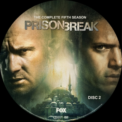 Covercity Dvd Covers Labels Prison Break Season 5 Disc 2