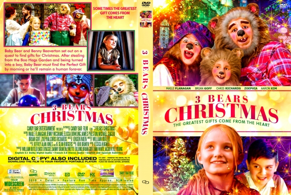 CoverCity - DVD Covers & Labels - 3 Bears Christmas