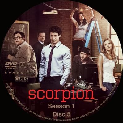 Scorpion - Season 1; disc 5