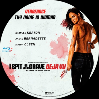 I Spit on Your Grave Deja VU Blu-ray April 23 Camille