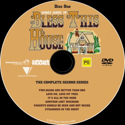 Bless This House - Season 2; disc 1