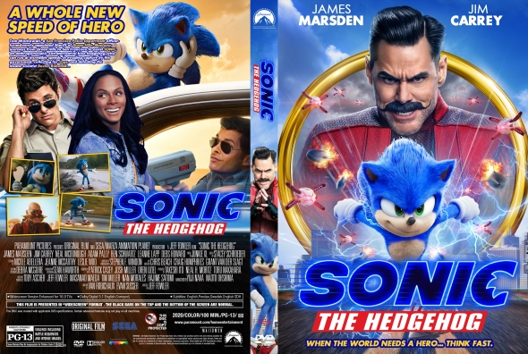 Covercity Dvd Covers Labels Sonic The Hedgehog