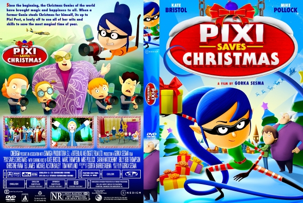 Pixi Saves Christmas 2020 CoverCity   DVD Covers & Labels   Pixi Saves Christmas