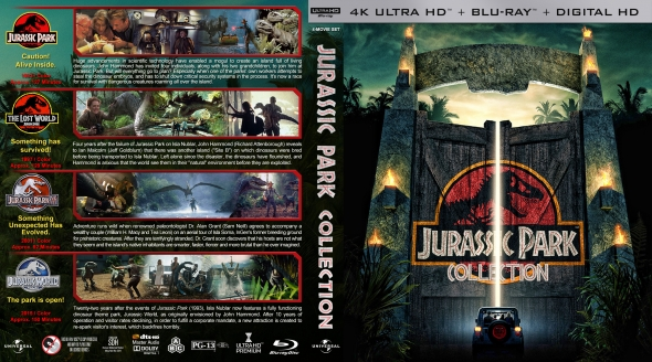 Covercity Dvd Covers Labels Jurassic Park Collection 4k