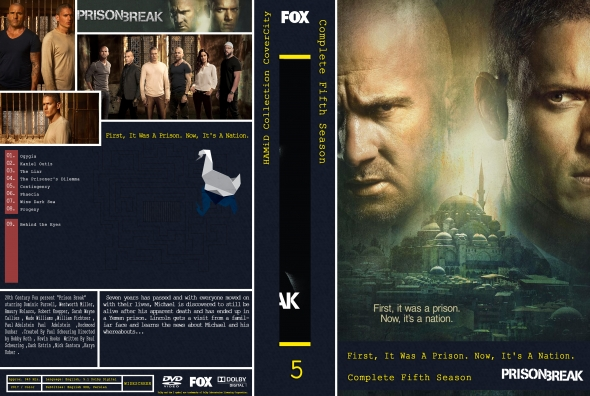 Covercity Dvd Covers Labels Prison Break Season 5