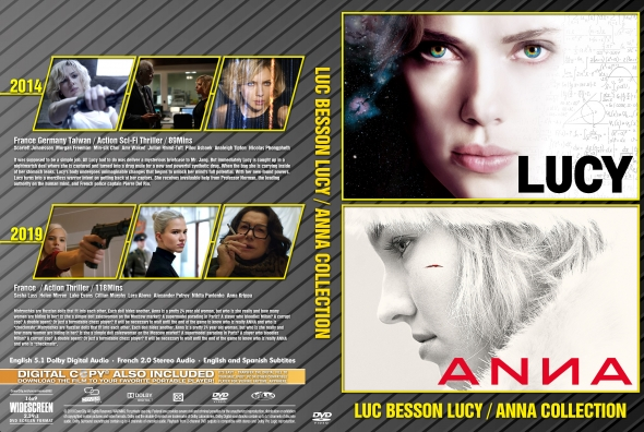 Luc Besson Collection / Anna / Lucy