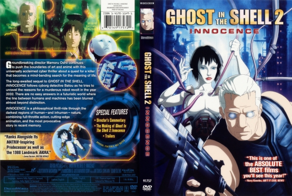Covercity Dvd Covers Labels Ghost In The Shell 2 Innocence