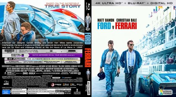Covercity Dvd Covers Labels Ford V Ferrari 4k