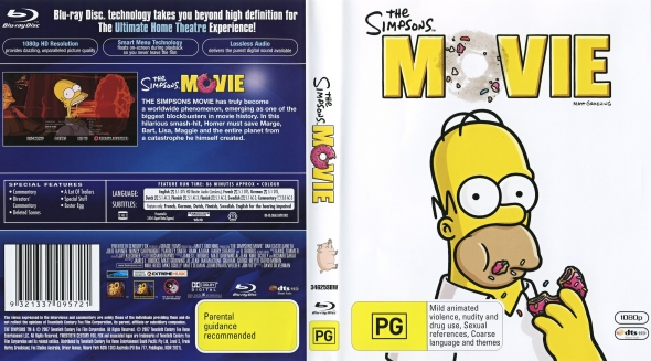 Covercity Dvd Covers Labels The Simpsons Movie
