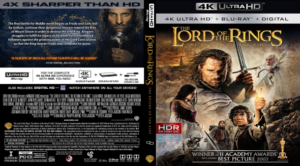 The Lord of the Rings: The Return of the King 4K