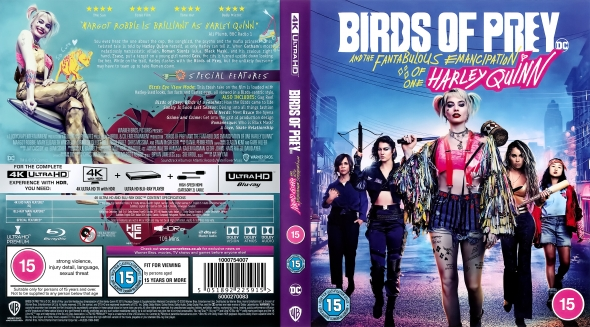 Covercity Dvd Covers Labels Birds Of Prey And The Fantabulous Emancipation Of One Harley Quinn 4k