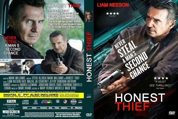 Covercity Dvd Covers Labels Honest Thief