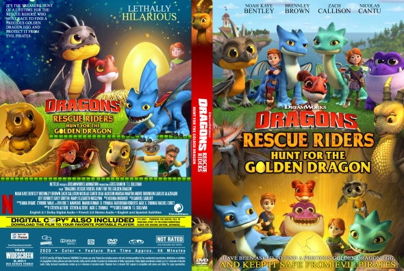 Covercity Dvd Covers Labels Dragons Rescue Riders Hunt For The Golden Dragon