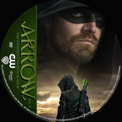 Arrow - Season 8; disc 4