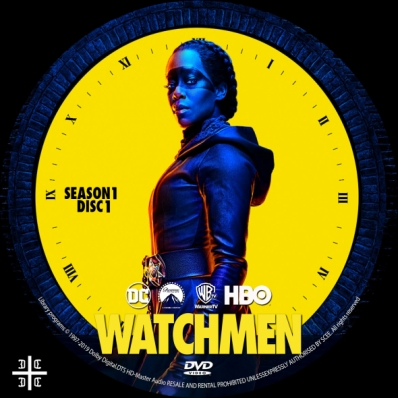 Watchmen - Season 1; disc 1