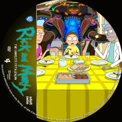 Rick And Morty - Season 5; disc 4