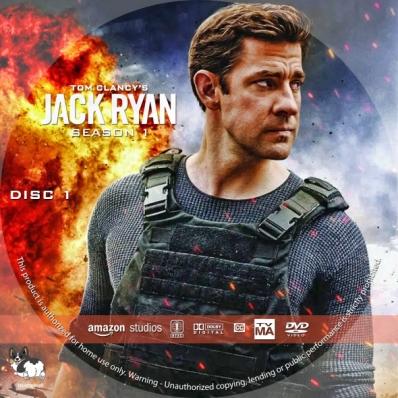 Jack Ryan - Season 1, disc 1