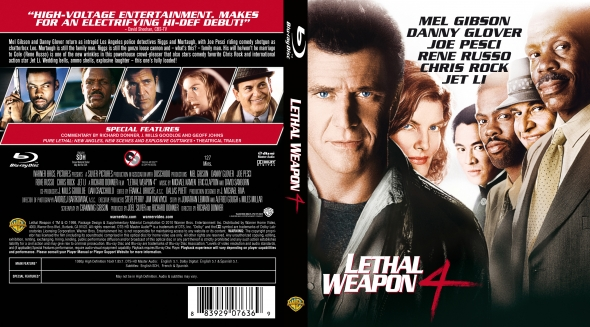 Covercity Dvd Covers Labels Lethal Weapon 4