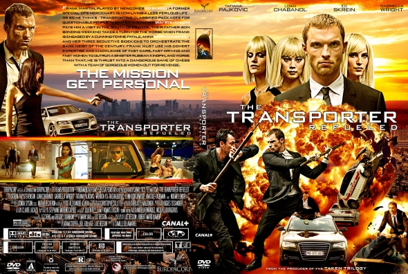 CoverCity - DVD Covers & Labels - The Transporter Refueled