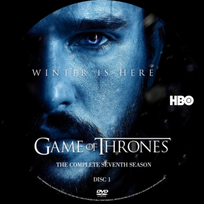 Covercity Dvd Covers Labels Game Of Thrones Season 7 Disc 1