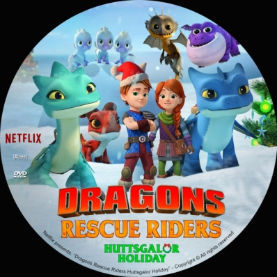 Dragons Rescue Riders Huttsgalor Holiday
